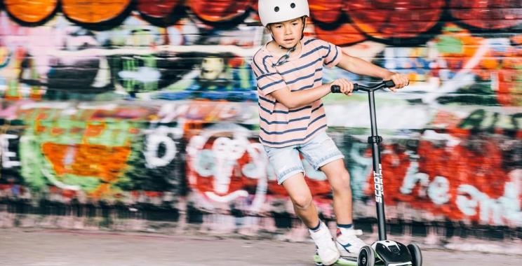 Jeździk i hulajnoga od Scoot&Ride