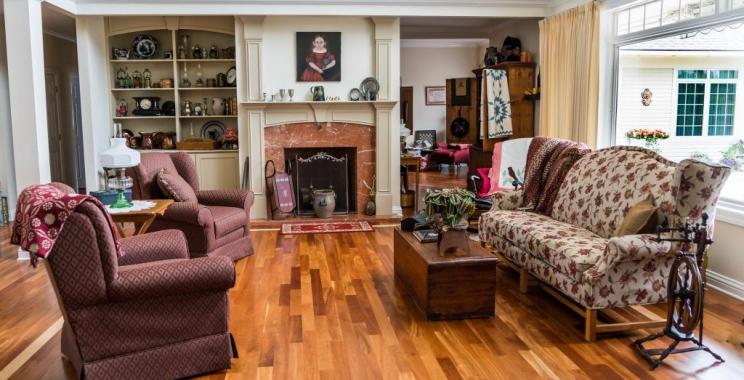 Rodzina u siebie – domy z drewna